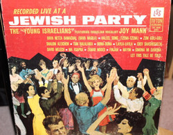 The Young Israelians, Joy Mann - Recorded Live At A Jewish Party (LP)