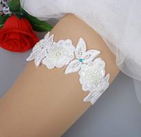 Esküvői, menyasszonyi harisnyakötő ES-HK22