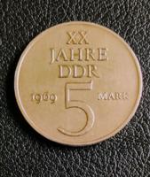 NDK 5 márka 1969  EMLÉKKIADÁS UNC