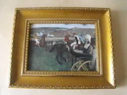 Edgar Degas : lovasok, cerfikációval