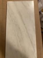 Fehér márvány padlólap 40 x 20 x 1.5 cm