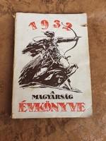 1932 A Magyarság Évkönyve