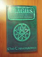 M.A.G.U.S - ELSŐ TÖRVÉNYKÖNYV - Szerepjáték kiegészítő kötet