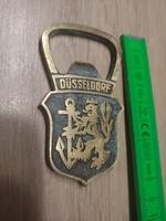 Dösseldorf cimeres sörnyitó 1971 évből