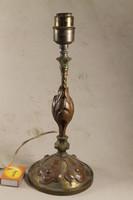 Antik bronz vörösréz éjjeli lámpa 16