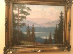Torday Székely Mihály eredeti festménye .