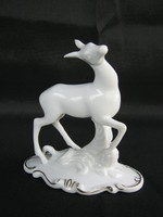 Royal Dux porcelán őz vidám kis őzike