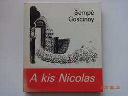 René Goscinny: A kis Nicolas - régi, ritka mesekönyv (1985)