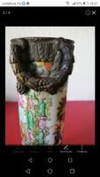 Kínai porcelán váza bronz szerelékkek cc.1760