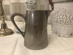 Antik G.A jelzésű ezüstözött alpakka tejkiöntő