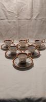Német porcelán csésze és alj gyűjteménybe ár/db