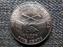 USA Louisiana Bicentenáriuma (1803-2003) 5 Cent 2004 P (id48707)