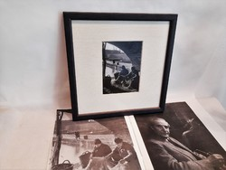 Horling Róbert (1931-1992). Halászok, 1957 díjnyertes fotó + Kiállítási katalógus