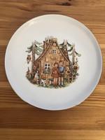 Colditz Jancsi és Juliska - mese figurás tányér