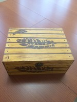 Fából készült tároló doboz