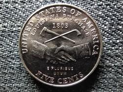 USA Louisiana Bicentenáriuma (1803-2003) 5 Cent 2004 D (id48645)