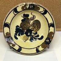 Korondi kakasos tányér  19 cm
