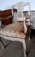 Chipendale karos szék