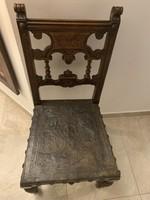 Figyelem! EREDETI reneszánsz szék a nagybiccsei Thurzó kastélyból