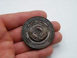 KK1218 Nagyméretű bronz medál 50 mm 65.6 gramm