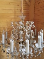 Kristály lámpa állólámpa 10 égős