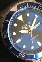 Seiko 5 Water Ghost Blue karóra replika - Ajánlatot várok!