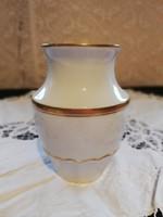 Eladó régi porcelán herendi váza elegáns aranyozással!