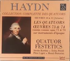 FESTETICS QUARTET  HAYDN VONÓSNÉGYESEK   2  CD