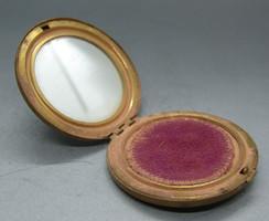 B323 Antik tükrös púderes szelence