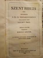Károli Gáspár Szent Biblia