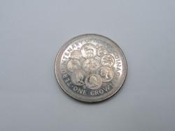 KK1206 1979 MAN sziget  1 korona érme Isle of Man One crown