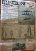 Magyarok folyóirat plakát