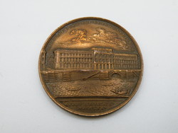 KK1216 Szuvenír bronz medál 32 mm 14.6 gramm