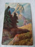 Antik képeslap (1917)