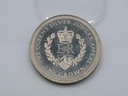 KK1207 1977 MAN sziget  1 korona érme Isle of Man One crown