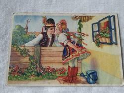 Antik képeslap(1948)