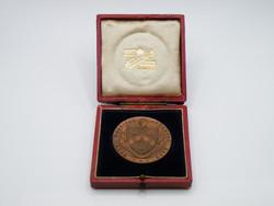 KK1220 1912 Bronz atlétikai medál eredeti dobozában