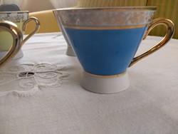 Szines PM jelzett kávés csészék