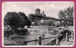 *C - - - 030  Magyarország régi képeken: Esztergom  (Monostory fotó)