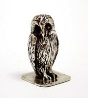 Ezüst bagoly miniatűr figura (ZAL-BI40172)