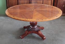 Biedermeier kerekasztal étkezőasztal