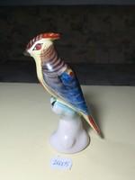Ritka porcelán madárka szobor