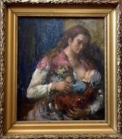 P. Bak János, Anya gyermekével