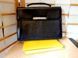 VOGUE design  női filigrán irat / laptop táska bőr