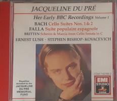JACQUELINE DU PRÉ HER EARLY BBC RECORDINGS 1     CD