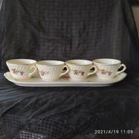 Gránit teás csészék és tálca