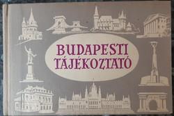 BUDAPEST TÁJÉKOZTATÓ