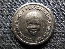 Hollandia Királyi család fantázia érmek Vilmos Sándor herceg 5 Cent (id48596)