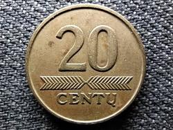 Litvánia 20 cent 1997 (id48950)