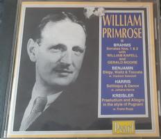 WILLIAM PRIMROSE VIOLA    -  BRÁCSA - MÉLYHEGEDŰ     CD